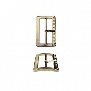 Пряжка металлическая, 4.5см, цвет никель