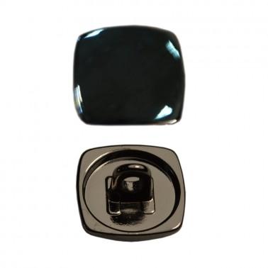 Пуговица металлизированная, 24L, цвет оксид