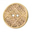 Пуговица металлизированная, 48L, цвет антик