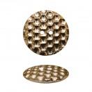 Пуговица металлизированная, 40L, цвет золото