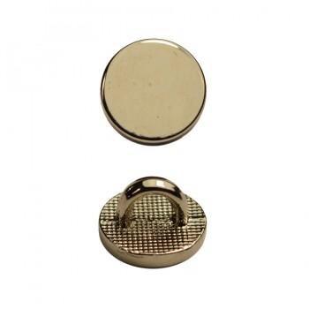 Пуговица металлическая, 14L, цвет никель