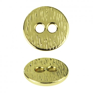 Пуговица металлическая, 16L, цвет золото