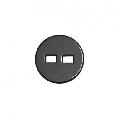 Пуговица металлическая, 20L, цвет оксид