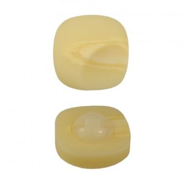 Пуговица пластиковая, 48L, цвет кремовый