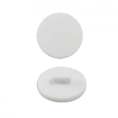 Пуговица пластиковая, 20L, цвет белый матовый