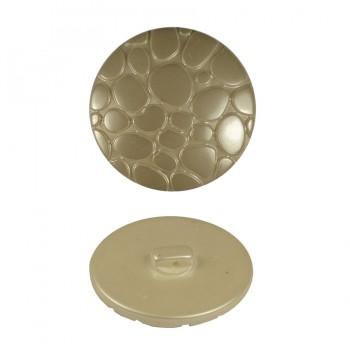 Пуговица пластиковая, 54L, цвет белый перл.