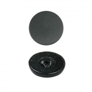 Пуговица пластиковая, 48L, цвет серый