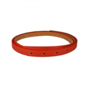 Полотно для ремня и/к,  длина 114см, ширина 1,1см, цвет 3-красный