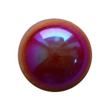 Страза клеевая, цвет бордо