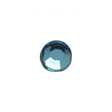 Страза клеевая, цвет темно-голубой