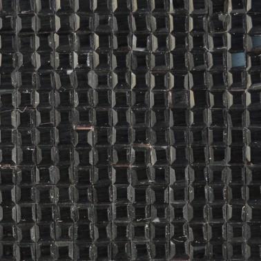 Стразы клеевые на листах, цвет черный
