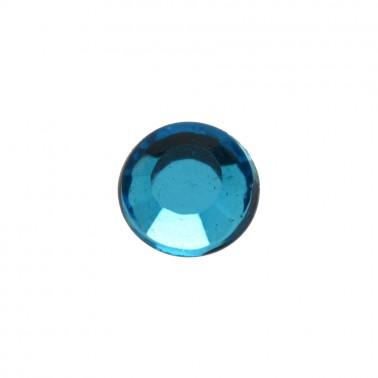 Страза клеевая, цвет голубой