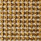 Клеевые стразы на листах, цвет золото