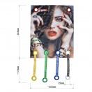 Аппликация пришивная, текстиль, цвет разноцветный