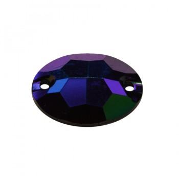 Страза пришивная, 11*16мм, цвет темно-синий