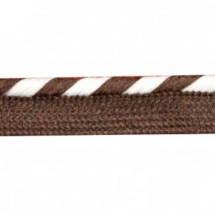Кант отделочный, цвет 570-коричневый+белый