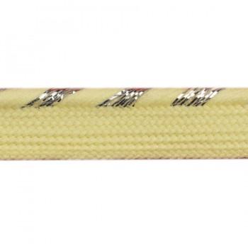 Кант отделочный, цвет желтый+серебро