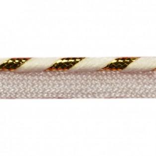 Кант отделочный, цвет белый+золото