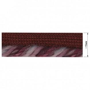 Кант декоративый, цвет бордо