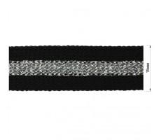Тесьма отделочная c люрексом