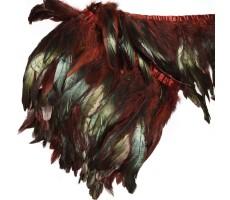 Тесьма декоративная с перьями