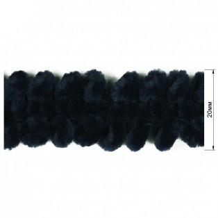 Тесьма декоративная, цвет т.синий