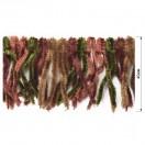 Тесьма декоративная с бахромой, цвет разноцветный