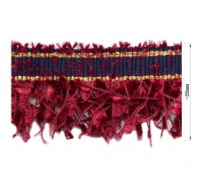 Тесьма декоративная с бахромой