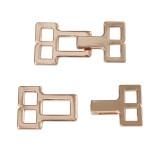 Крючок-застежка декоративная метал., цвет золото