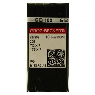Игла  Groz-Beckert  для промышленных машин,  для пуговичных машин, 2091 (TQx7,175х7), №100