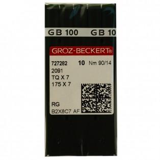 Игла  Groz-Beckert  для промышленных машин,  для пуговичных машин, 2091 (TQx7,175х7), №90