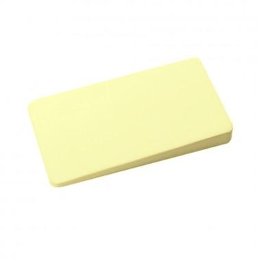 Мел портновский прямоугольный, цвет желтый
