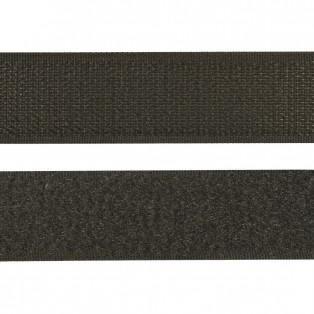 Лента контактная с клеевым слоем липучка, цвет серый