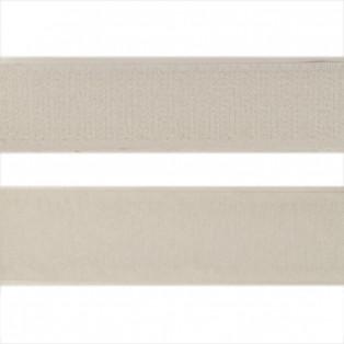 Лента контактная с клеевым слоем липучка, цвет белый
