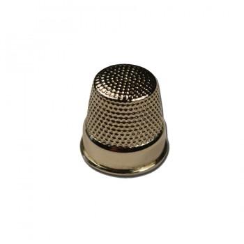 Наперсток металлический для шитья, цвет никель