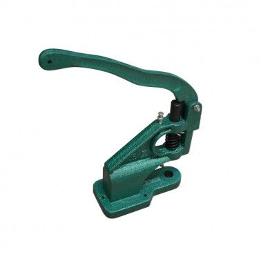 Пресс ручной для установки металлической фурнитуры, d=8мм, цвет зеленый