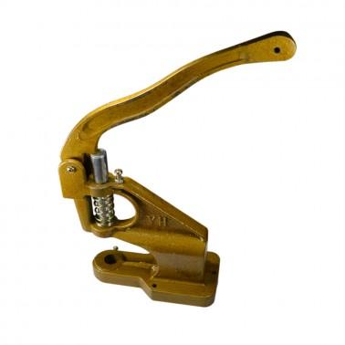 Пресс ручной для установки металлической фурнитуры, ударостойкий, d=8мм, цвет золото