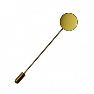 Иголка для брошь-шпилька, цвет золото