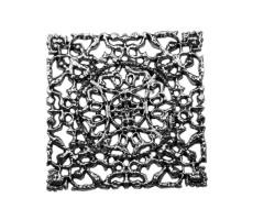 Украшение пришивное металлическое