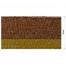 Довяз (манжета), цвет коричневый+желтый+золото