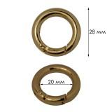Карабин-кольцо металлический