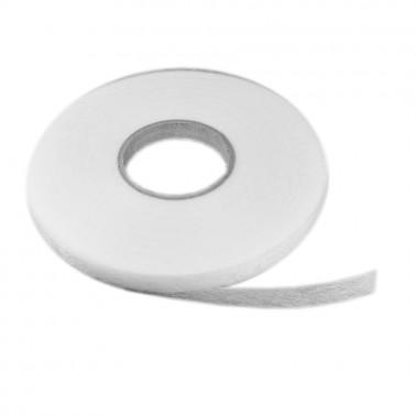 Лента клеевая из нетканых материалов 1см, цвет белый