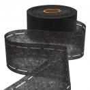 Лента клеевая перфорированная 7.2см, цвет черный