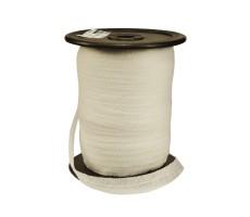 Лента флизелиновая прошитая по косой с ниткой 1.2см
