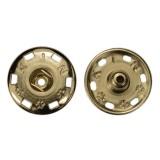 Кнопка металл, пришивная, цвет никель