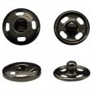 Кнопка металл, пришивная,10мм цвет черный