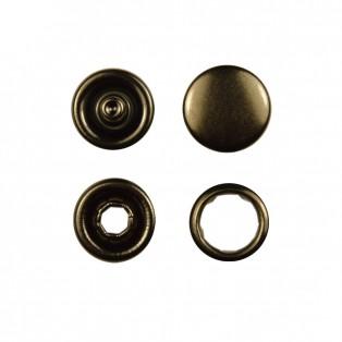 Кнопка установочная металлическая, цвет оксид