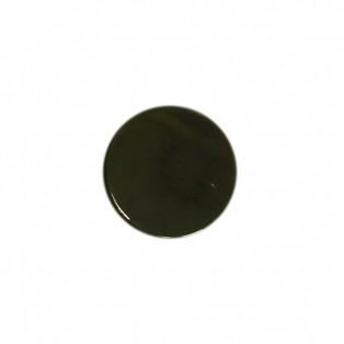 Кнопка установочная металлическая, 15мм цвет оксид
