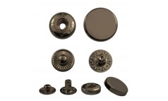 Кнопка установочная металлическая