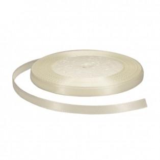 Лента атласная 0.5см, цвет 042-белый